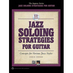 Buono, Chris: Jazz Soloing Strategies (+CD) : for guitar