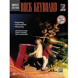 Bouchard, Joe: Rock Keyboard (+CD) : complete Edition