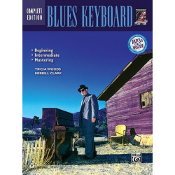 Woods, Tricia: Blues Keyboard (+CD): Complete edition