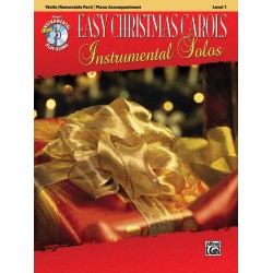 Easy Christmas Carols (+CD) : for violin and piano