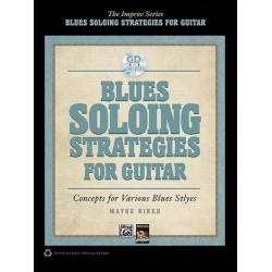 Riker, Wayne: Blues Soloing Strategies (+CD) : for guitar
