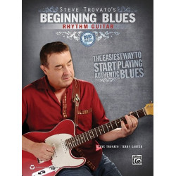 Trovato, Steve: Beginning Blues (+CD) : for rhythm guitar