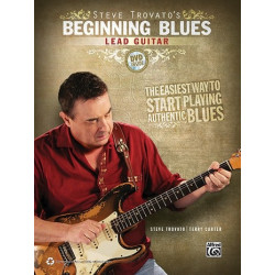 Trovato, Steve: Beginning Blues (+CD) : for lead guitar