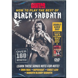 How to play the Best of Black Sabbath : DVD