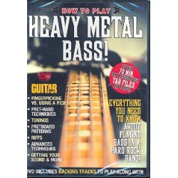 How to play Heavy Metal Bass : DVD