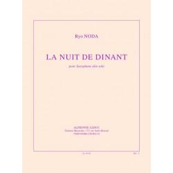 Noda, Ryo: La Nuit de Dinant : pour saxophone alto