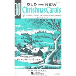 30 Old and new Christmas Carols : for female chorus