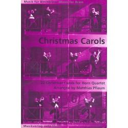 Christmas Carols für 4 Hörner Partitur und Stimmen