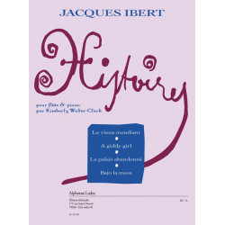 Ibert, Jacques: Histoires : pour flûte et piano