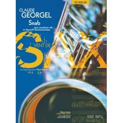 Georgel, Claude: Snab (+CD) : pour saxophone alto et dispositif electroacoustique