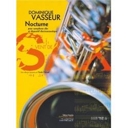 Vasseur, Dominique: Nocturne : pour saxophone alto et dispositif electroacoustique (+CD)