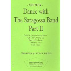 Dance with the Saragossa-Band Vol.2 : für Blasorchester Stimmen