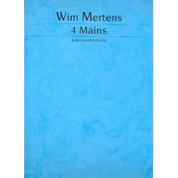 Mertens, Wim: 4 Mains : für Klavier 4-händig