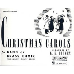 Christmas Carols : for Brass Band Clarinet