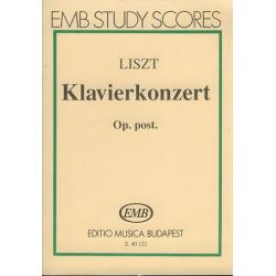 Liszt, Franz: Klavierkonzert Es-Dur Taschenpartitur