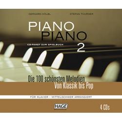 Piano Piano Band 2 (mittelschwer) 4 CD's
