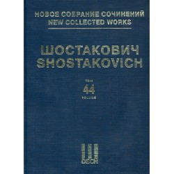 Schostakowitsch, Dimitri: New collected Works Series 3 vol.44 : Violin Concerto no.2 op.129 score