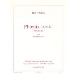 Noda, Ryo: Phoenix : f├╝r Saxophon