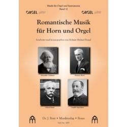 Romantische Musik für Horn und Orgel
