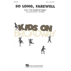 Rodgers, Richard: So long, Farewell : for female chorus and piano