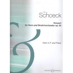 Schoeck, Othmar: Konzert op. 65 für Horn und Streicher Klavierauszug mit Solostimme