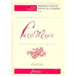 Corrette, Michel: Premier livre de pieces de clavecin