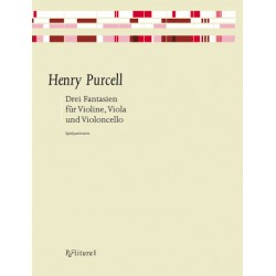 Purcell, Henry: 3 Fantasien : für Violine, Viola und Violoncello 3 Spielpartituren