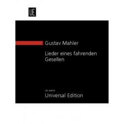 Mahler, Gustav: Lieder eines fahrenden Gesellen für Singstimme und Orchester Studienpartitur