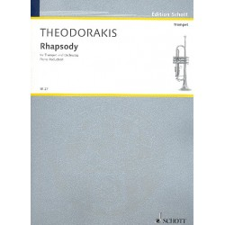 Theodorakis, Mikis: Rhapsodie : für Trompete und Orchester Klavierauszug
