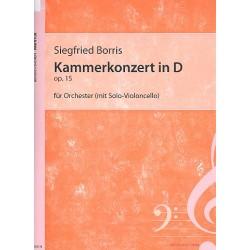 Borris, Siegfried: Kammerkonzert in D op.15 : f├╝r Orchester Faksimile