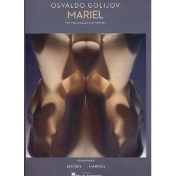 Golijov, Osvaldo: Mariel : for violoncello and marimba 2 playing scores