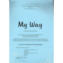 Revaux, Jacques: My Way: for Big Band score and parts