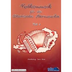 Volksmusik für die steirische Harmonika Band 1