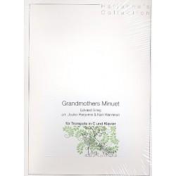 Grieg, Edvard Hagerup: Grandmother's Minuet : für Trompete und Klavier