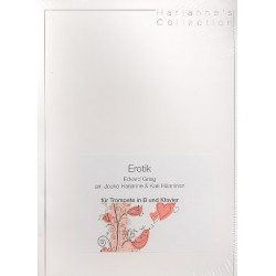 Grieg, Edvard Hagerup: Erotik : für Trompete und Klavier
