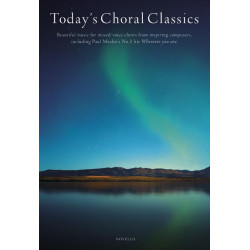 Today's Choral Classics for mixed chorus with or without piano score