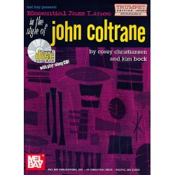 Christiansen, Corey: Essential Jazz Lines in the Style of John Coltrane (+CD) : for trumpet