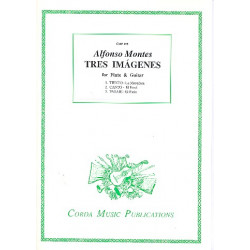 Montes, Alfonso: Tres Imágenes : for flute and guitar