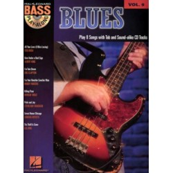 Blues (+CD) : Bass playalong vol.9 songbook vocal/bass/tab