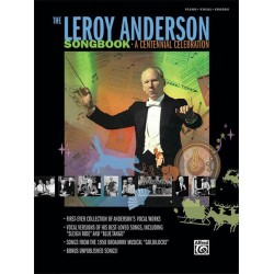 Anderson, Leroy: The Leroy Anderson Songbook songbook for piano/vocal/guitar
