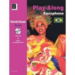 World Music Brazil (+CD) : für Saxophon und Klavier