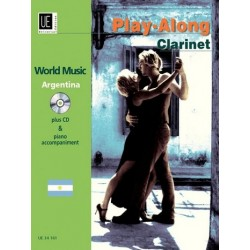 World Music Argentina (+CD) : f├╝r Klarinette und Klavier