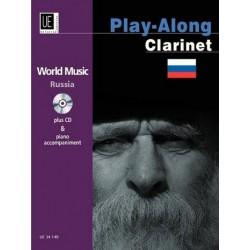World Music Russia (+CD) : für Klarinette und Klavier