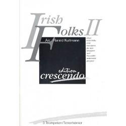 Irish Folks vol.2: für 3 Trompeten (Tenorhörner) Partitur und Stimmen