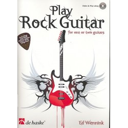 Wennink, Ed: Play Rock Guitar (+CD) : for 1-2 guitars/tab incl. printable Rhythm Guitar Parts