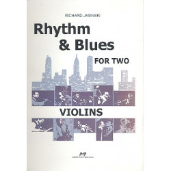 Jasinski, Richard: Rhythm and Blues : for 2 violins score