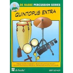 Bomhof, Gert: Quintopus extra : f├╝r 5 Perkussionisten Partitur und Stimmen