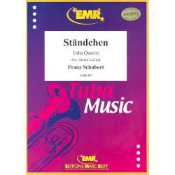 Schubert, Franz: Ständchen : for 4 tubas score and parts