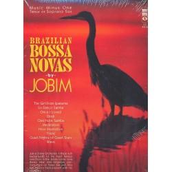 Jobim, Antonio Carlos: Brazilian Bossa Novas (+CD) : for saxophone (T/S)