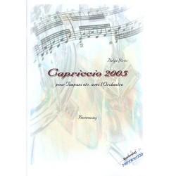 Jörns, Helge: Capriccio 2005 für Pauke und Orchester : für Pauke und Klavier